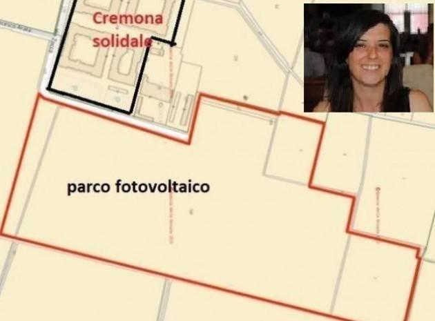 Fotovoltaico Cr Solidale Pasquali (PD) pone a Garoli, prima di firmare atti, alcuni paletti da chiarire