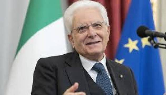 MATTARELLA A XI JINPING: ''SOLIDARIETÀ E VICINANZA DEGLI ITALIANI ALL'AMICO POPOLO CINESE''
