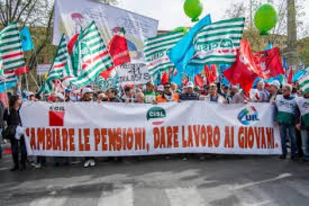CGIL La trattativa Pensioni, partito il confronto per superare la Fornero