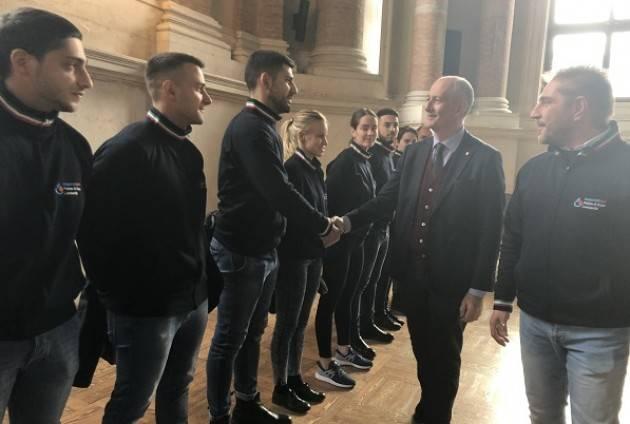 Brescia Il Capo della Polizia Franco Gabrielli ritira la Vittoria Alata | Adriana Zuccarini