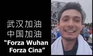 Una  camminata a Pechino,del cremonese  Tommaso Negri, durante il Coronavirus (Video)