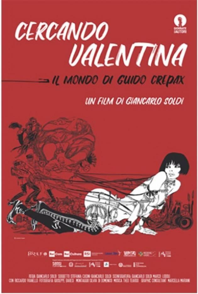CERCANDO VALENTINA – IL MONDO DI GUIDO CREPAX  al Filo di Cremona il 19 febbraio