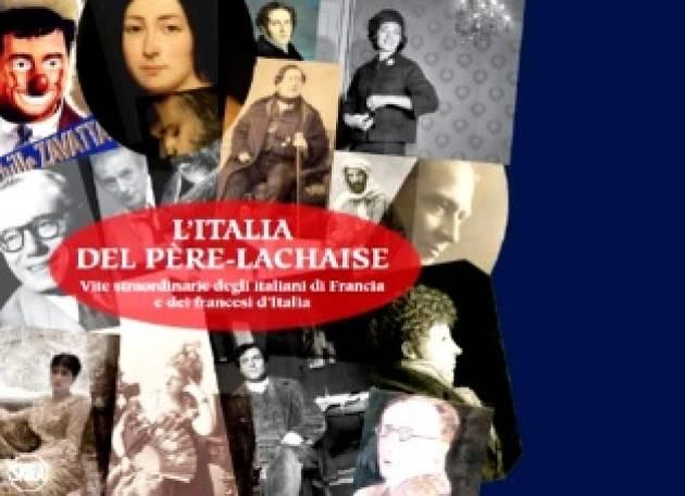"""LUNEDÌ LA PRESENTAZIONE A ROMA DEL LIBRO """"L'ITALIA DEL PÈRE-LACHAISE"""" CON MERLO E VIGNALI"""