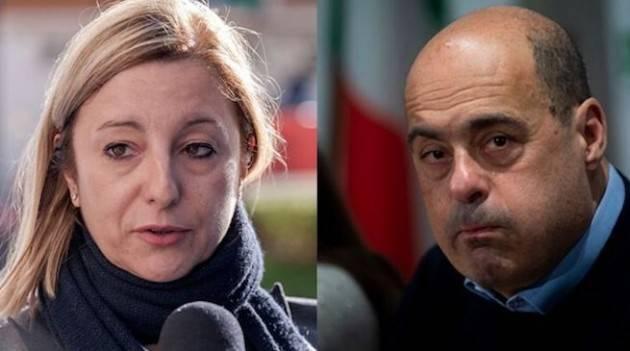Lombardi (M5S) scrive a Zingaretti (PD): ''Su prescrizione e Autostrade seguiteci o il governo non è più credibile''