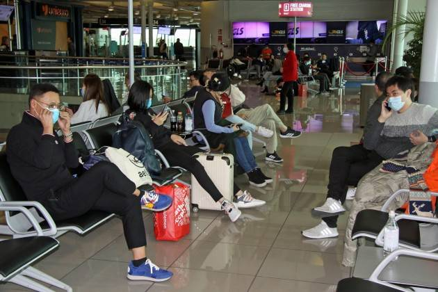 9 italiani via da Wuhan a bordo di aereo britannico