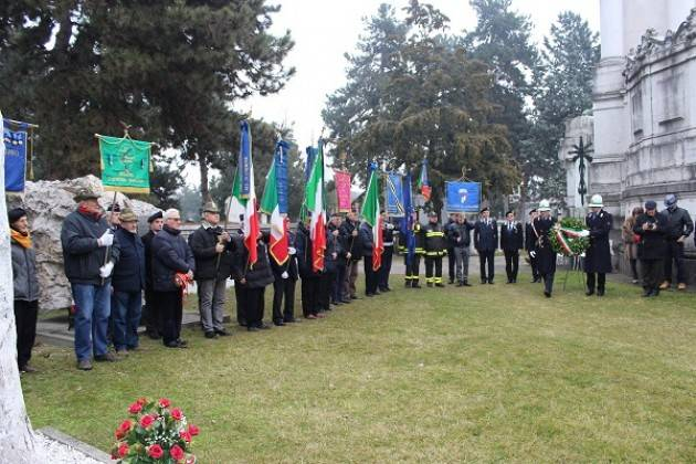 Commemorato al Civico Cimitero di Cremona  il 'Giorno del Ricordo'