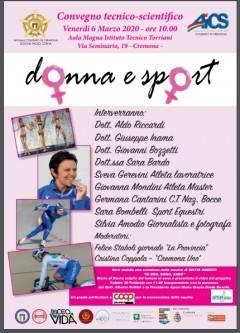 Cremona Donna e Sport : i vantaggi dell'attività fisica