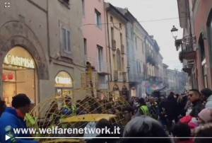 Crema Ha preso il via il 34° Gran Carnevale Cremasco (Video E.Mandelli)
