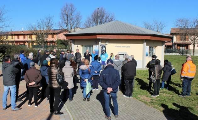 Castelverde, Padania Acque : Fonte Mujòon e la fontanella 'AcquaPoint' per un comune sempre più 'plastic free'