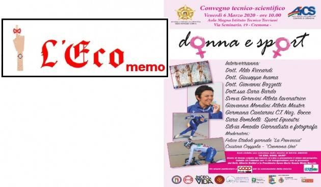 L'ECO MEMO - Donna e Sport