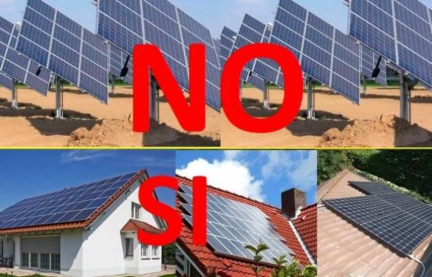 Fotovoltaico a terra a Cr Solidale Forza Italia: GALIMBERTI BATTE IN RITIRATA