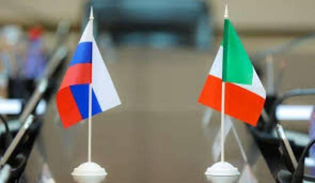 A ROMA LA RIUNIONE DEI MINISTRI DEGLI ESTERI E DELLA DIFESA ITALO-RUSSI