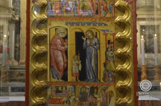 Cremona Tavola di Sant'Agata andrà al Museo Diocesano, nella chiesa dovrà rimanere una copia