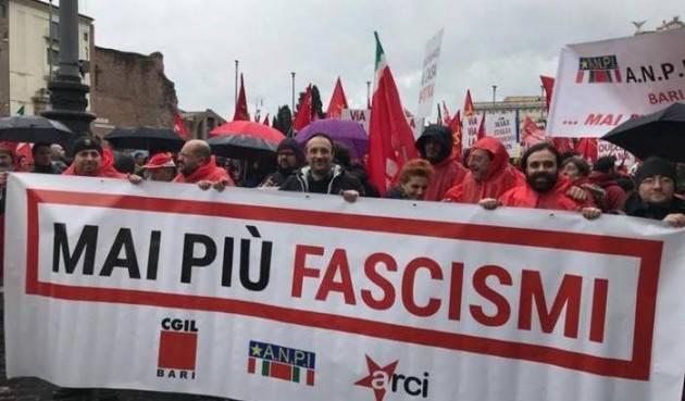 Cgil Anpi Società Un appello contro fascismi, razzismi e guerre