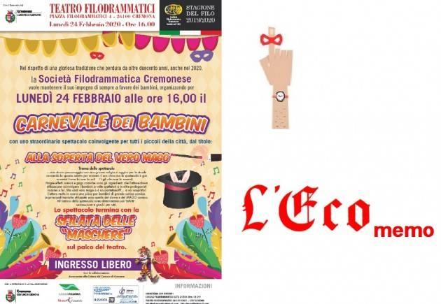 L'ECO MEMO - Carnevale dei bambini