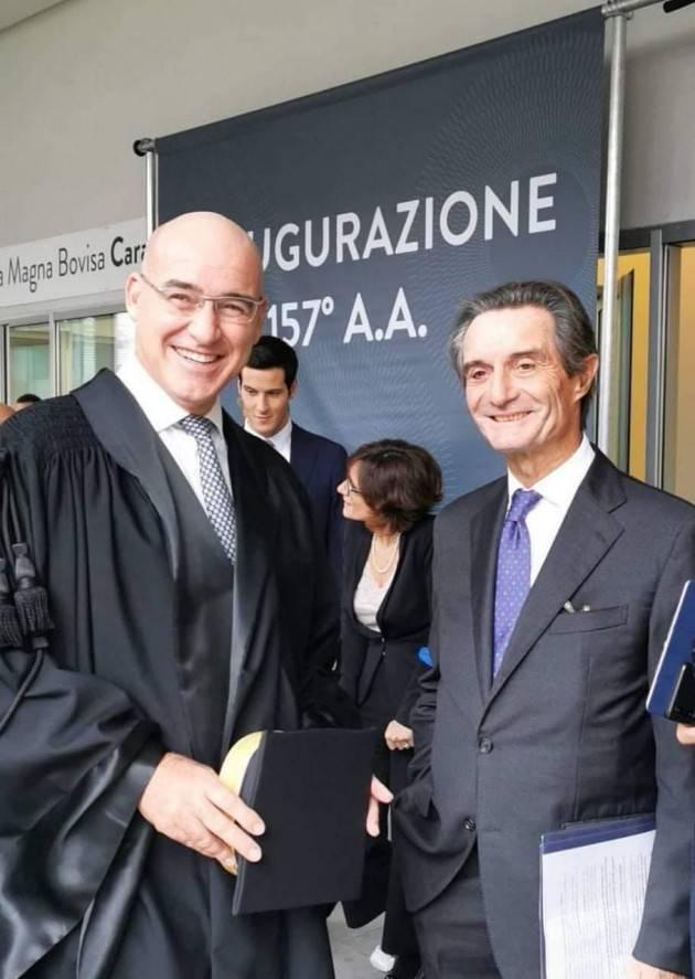 LNews-CONFERENZA RETTORI UNIVERSITA' ITALIANE, GOVERNATORE FONTANA: CONGRATULAZIONI A FERRUCCIO RESTA PER NOMINA PRESIDENTE