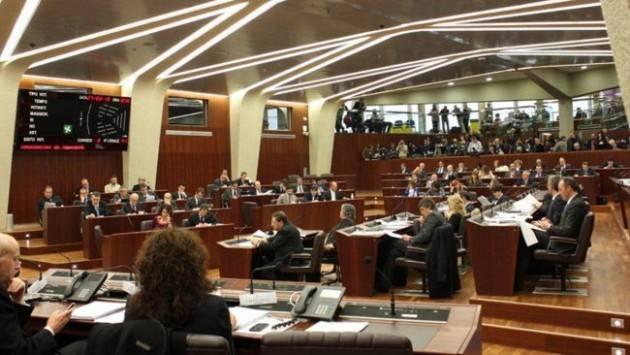 Lnews Martedì 25 seduta di Consiglio regionale Lombardia