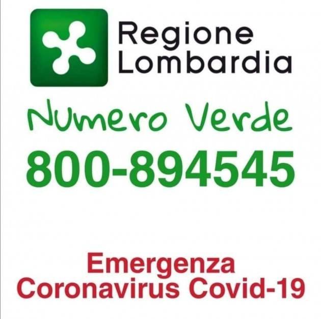 LNews-CORONAVIRUS, NELLA NOTTE SONO SALITI A 206 I CONTAGI IN LOMBARDIA
