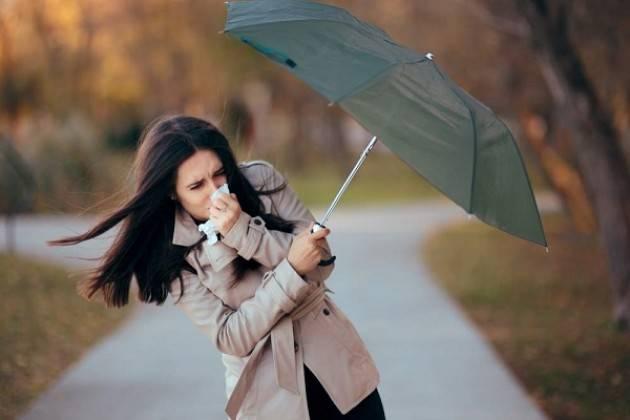 Allerta arancione per rischio vento forte fino alle ore 24:00 di mercoledì 26 febbraio