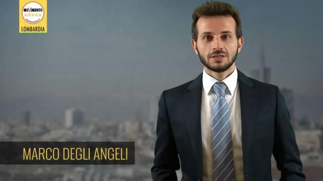 Degli Angeli(M5S Lombardia) Il video irresponsabile  di Fontana danneggia immagine ed economia dell'Italia e della Lombardia.