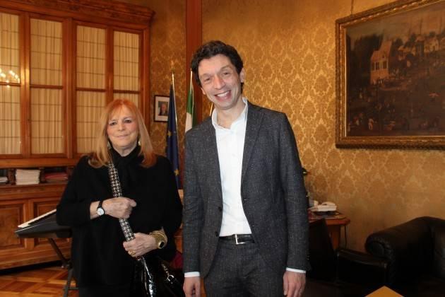 #CremonaCoronaVirus L'infettivologa Claudia Balotta ricevuta a Palazzo Comunale