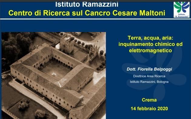 Green Economy: lezione dott. Fiorella Belpoggi| Piero Carelli