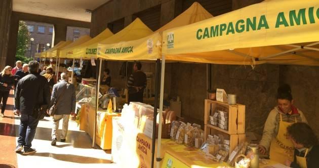 Coldiretti   'La campagna non si ferma' domani Mercato di Campagna Amica  presso il portico del Consorzio Agrario di Cremona