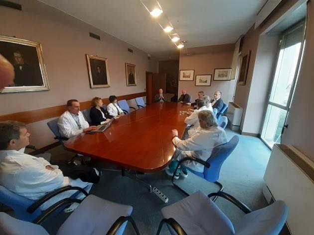 #cremonacoronavirus. Il Prefetto  in visita all'Ospedale di Cremona