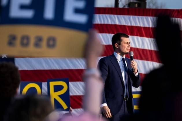Primarie  democratiche USA Pete Buttigieg ha gettato la spugna| Oscar Bartoli , USA