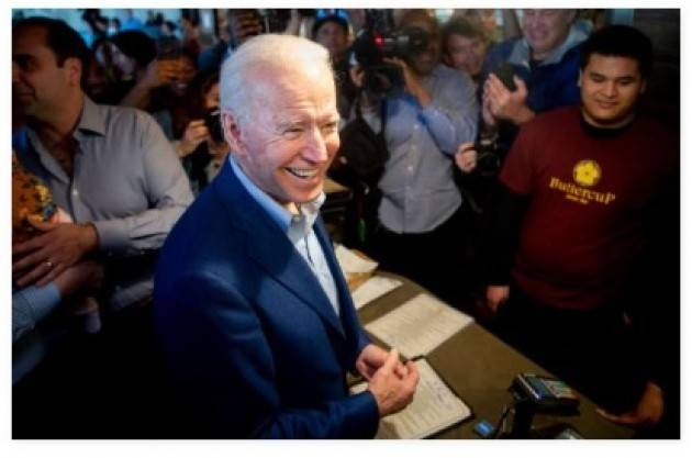 Primarie americane Joe Biden  Rieccolo: usato sicuro   Oscar Bartoli Washington