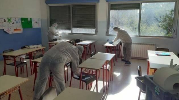 #CoronaVirusCremona In ogni plesso è già in atto la pulizia degli spazi all'interno delle scuole