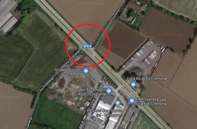 Cremona Nuova rotatoria sulla via Castelleone: dal 9 marzo il via ai lavori