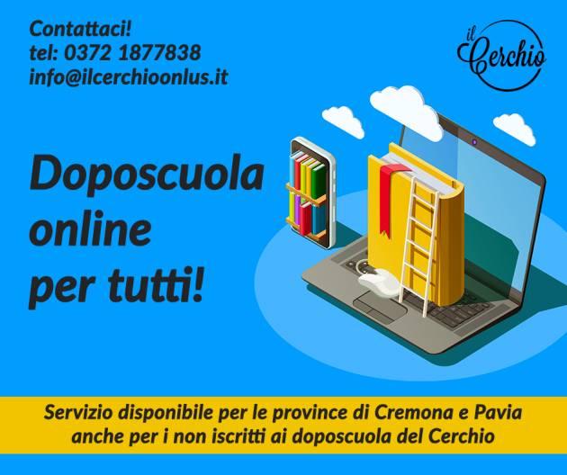 Il Cerchio COVID-19 | Doposcuola online per tutti bambini e i ragazzi residenti nelle province di Cremona e Pavia