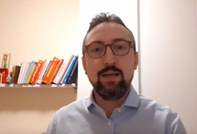Matteo Piloni (Pd) : Siamo alla terza settimana del Coronavirus , restiamo ancora in casa (Video)