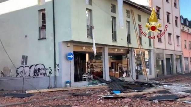 BERGAMO: Palazzina esplode nel centro di Seriate: 1 morto