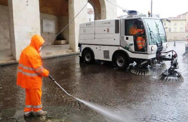 Coronavirus: le nuove regole per lo spazzamento delle strade