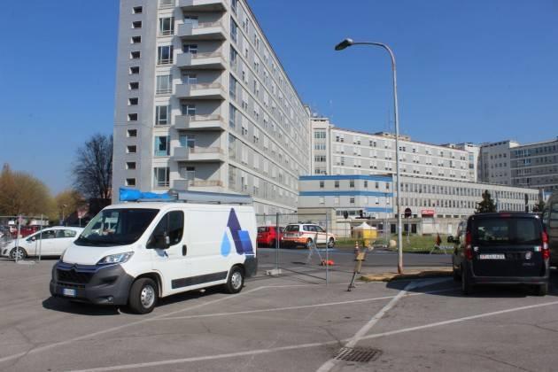 Padania Acque contribuisce alla realizzazione degli ospedali da campo di Cremona e Crema.