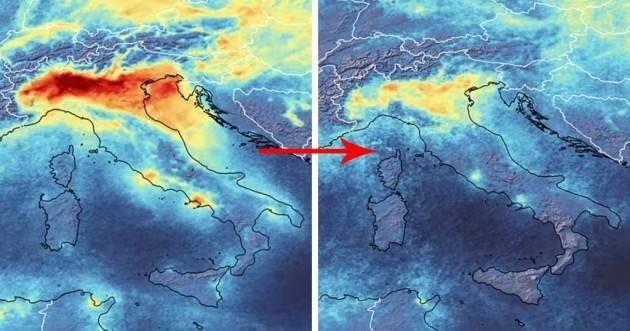 Crolla l'inquinamento atmosferico