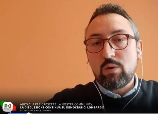 NEWS CORONAVIRUS, MATTEO PILONI (PD)  venerdì 20 marzo 2020 (Video)