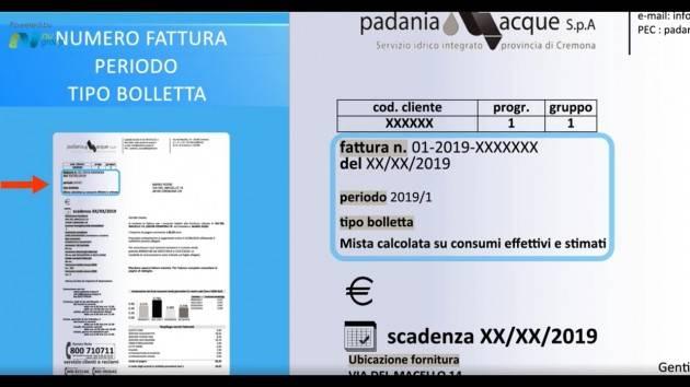 Cremona Padania Acque  emergenza Coronavirus: pagamento online delle bollette e proroga della scadenza al 30 aprile senza interessi di mora