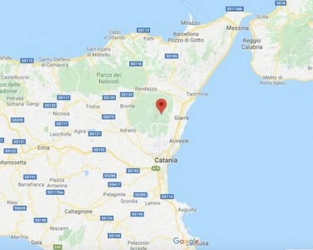 Scossa di magnitudo 3.5 in provincia di Catania
