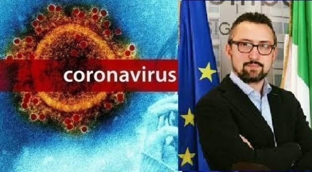 NEWS CORONAVIRUS ,MATTEO PILONI (PD) Lunedì 23 marzo 2020