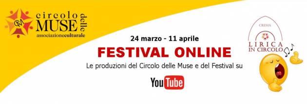 Crema Lirica in Circolo – Festival Online 2020 tutto on line