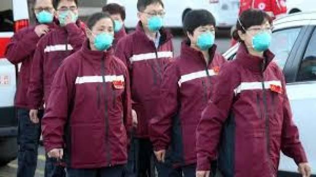 Oggi in arrivo dalla Cina il terzo team di medici