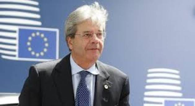 Gentiloni in auto-isolamento a Bruxelles