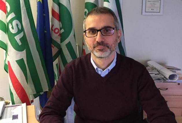 #Lottacoronavirus La telefonata con Dino Perboni (SG Cisl asse del Po Cremona-Mantova)