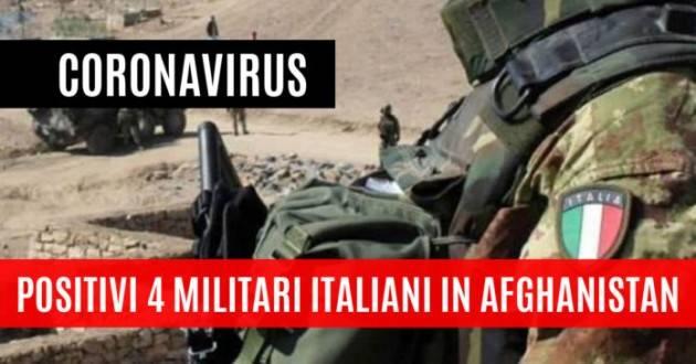 Positivi 4 militari italiani a Herat, in Afghanistan