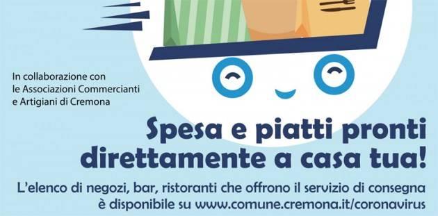Cremona Elenco Negozi, bar e ristoranti che effettuano servizi a domicilio