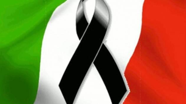 Il 31 marzo bandiera a mezz'asta presso le sedi delle Province e dei Comuni per le vittime dell'epidemia COVID-19