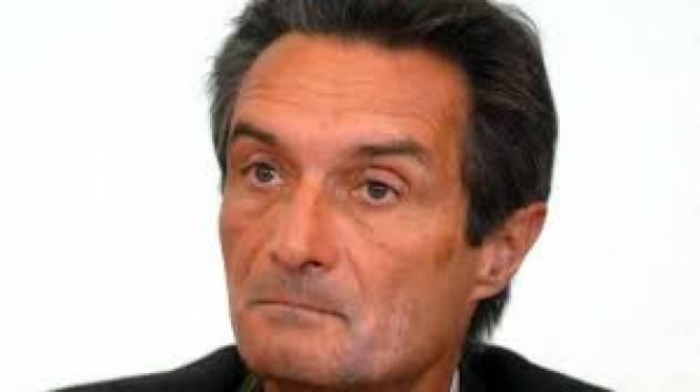 CORONAVIRUS FONTANA PERDE LE STAFFE E RISPONDE ALLE CRITICHE DI ALCUNI SINDACI LOMBARDI PARLANDO DI BIECA SPECULAZIONE POLITICA